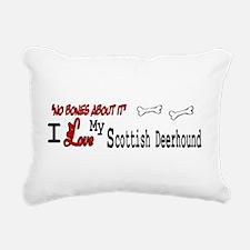 NB_Scottish Deerhound Rectangular Canvas Pillow