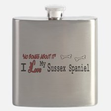 NB_Sussex Spaniel Flask