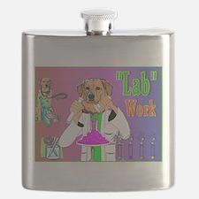 Labrador Retriever_Pun Intended Flask