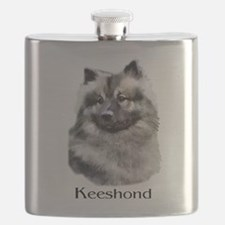 keeshond apparel.png Flask