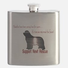 Support Newf Rescue Flask