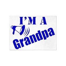Im A Grandpa 5'x7'Area Rug