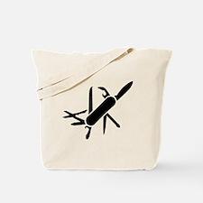 Army knife Tote Bag