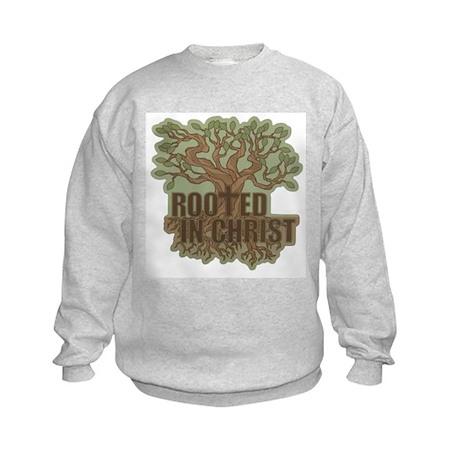 Rooted in Christ Kids Sweatshirt