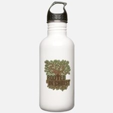 Rooted in Christ Water Bottle