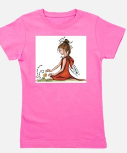woodland fairy admires a rose T-Shirt