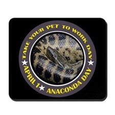 TAKE YOUR PET TO WORK DAY Mousepad