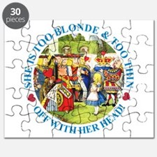 Too Blonde and Too Thin Puzzle