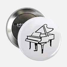 """Grand piano 2.25"""" Button"""