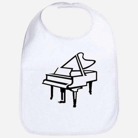 Grand piano Bib