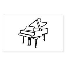 Grand piano Decal