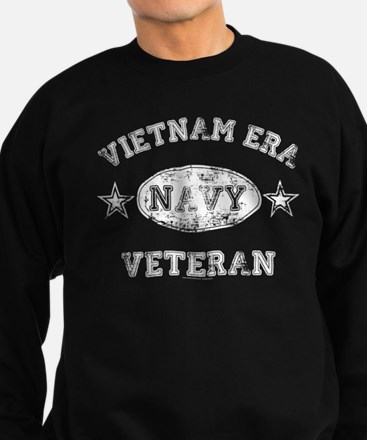 Vietnam Era Vet Navy Sweatshirt (dark)