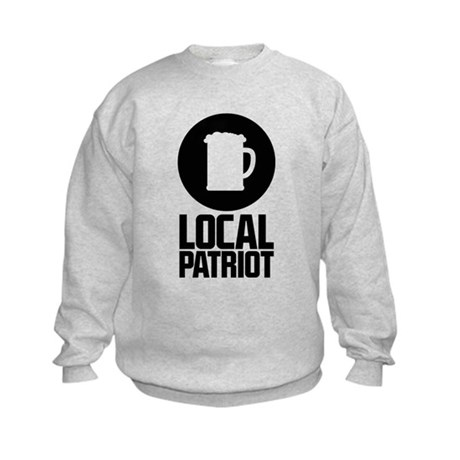 Local Patriot Beer Kids Sweatshirt