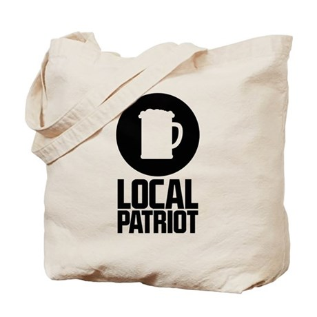 Local Patriot Beer Tote Bag