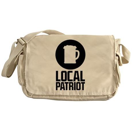 Local Patriot Beer Messenger Bag