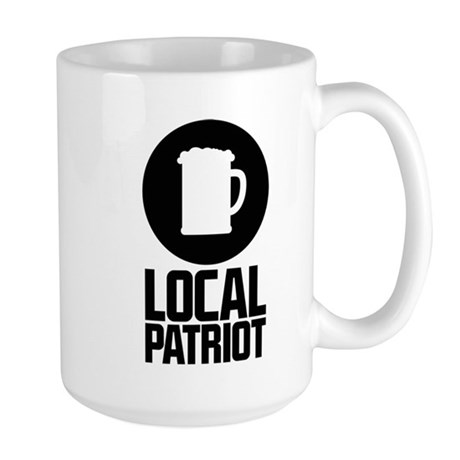 Local Patriot Beer Large Mug