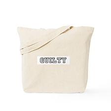 Guilty Tote Bag
