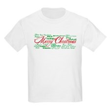 Merry Christmas language T-Shirt