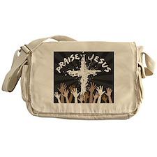 Praise Jesus Messenger Bag