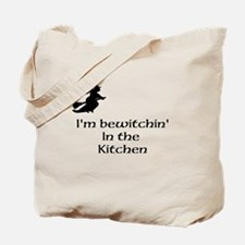 bewitchin in kitchen Tote Bag
