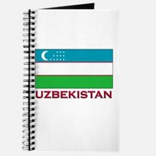 Uzbekistan Flag Stuff Journal