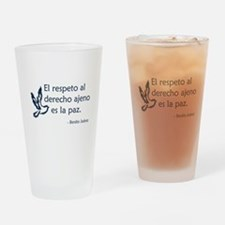 El respeto Drinking Glass