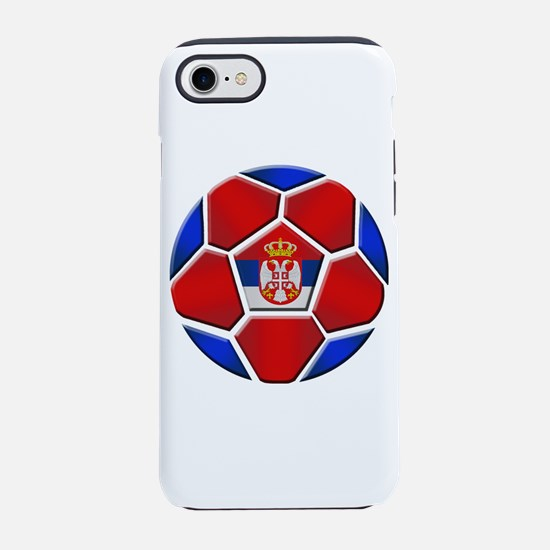 Serbia Soccer Football iPhone 7 Tough Case