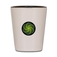 Green Rasa Shot Glass