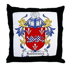 Hadderwick Coat of Arms Throw Pillow