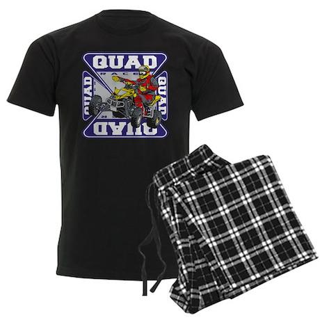 Quad Racer Men's Dark Pajamas
