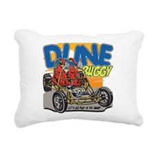 Dune Buggy Dirt Rectangular Canvas Pillow