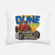 Dune Buggy Let's Go Play Rectangular Canvas Pillow