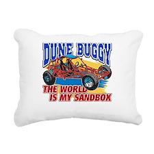 Dune Buggy Sandbox Rectangular Canvas Pillow