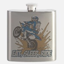 Cool Motorcycles Flask