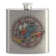 Go Kart Racing Flask