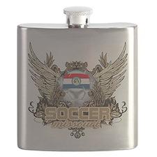 Soccer Missouri Flask