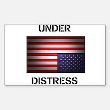 Under Distress Decal