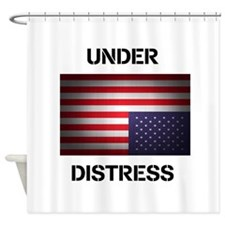 Under Distress Shower Curtain