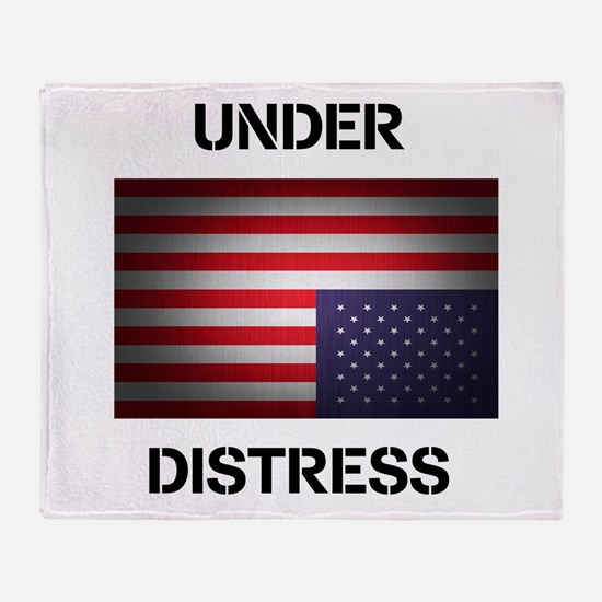 Under Distress Throw Blanket