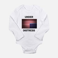 Under Distress Long Sleeve Infant Bodysuit