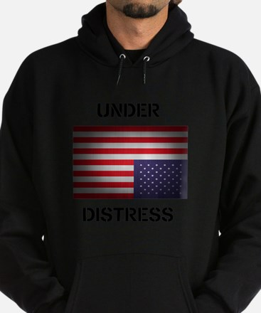 Under Distress Hoodie (dark)
