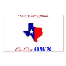 On Our Own Decal