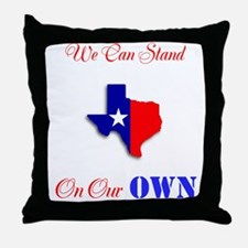 On Our Own Throw Pillow