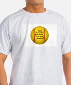 """Girls Fastpitch Softball"" T-Shirt"