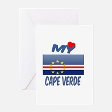My Love Cape Verde Greeting Card