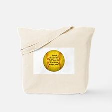 """Girls Fastpitch Softball"" Tote Bag"