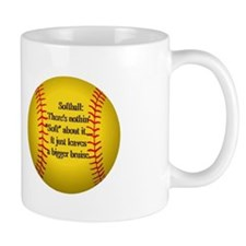 """Girls Fastpitch Softball"" Mug"