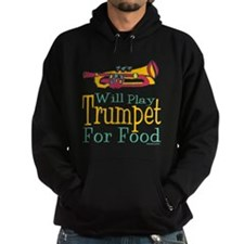 Will Play Trumpet Hoodie