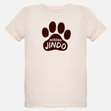 Korean Jindo Paw Print T-Shirt