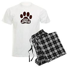 Korean Jindo Paw Print Pajamas
